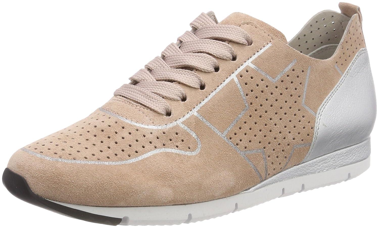 Kennel und Schmenger Schuhmanufaktur Tiger, Zapatillas para Mujer 42 EU Pink (Rosette/Silver Sohle Wei)