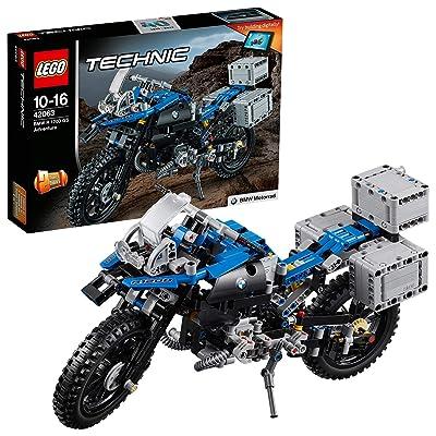 LEGO Technic - BMW R 1200 GS Adventure (42063) Juego de construcción: LEGO: Juguetes y juegos