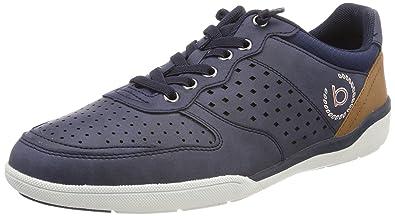 Herren 321465055000 Sneaker, Blau (Dark Blue), 40 EU Bugatti