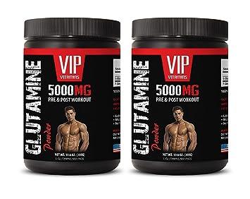 Amazon com: Muscle Pump pre Workout - GLUTAMINE Powder