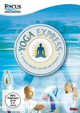 Yoga Express Die Besten übungen Fürs Büro Und Unterwegs Amazon