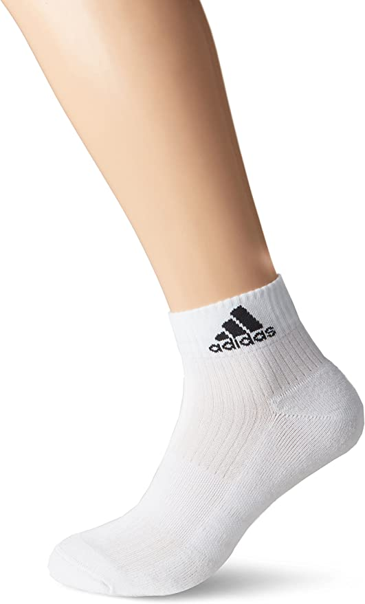 adidas 3s Performance Ankle Half Cushioned 6pp Chaussettes Homme
