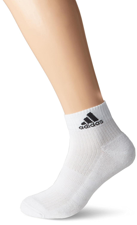 Calzini Unisex Adulto adidas 3s Performance Ankle Half Cushioned 6pp