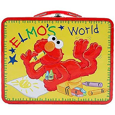 c807952c95c0 Elmo's World Embossed Metal Lunch Box/ Carry-All