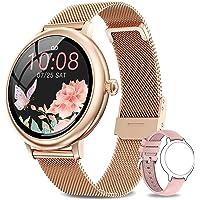 NAIXUES Smartwatch Mujer, Reloj Inteligente Impermeable 67, Monitor de Sueño y Caloría…
