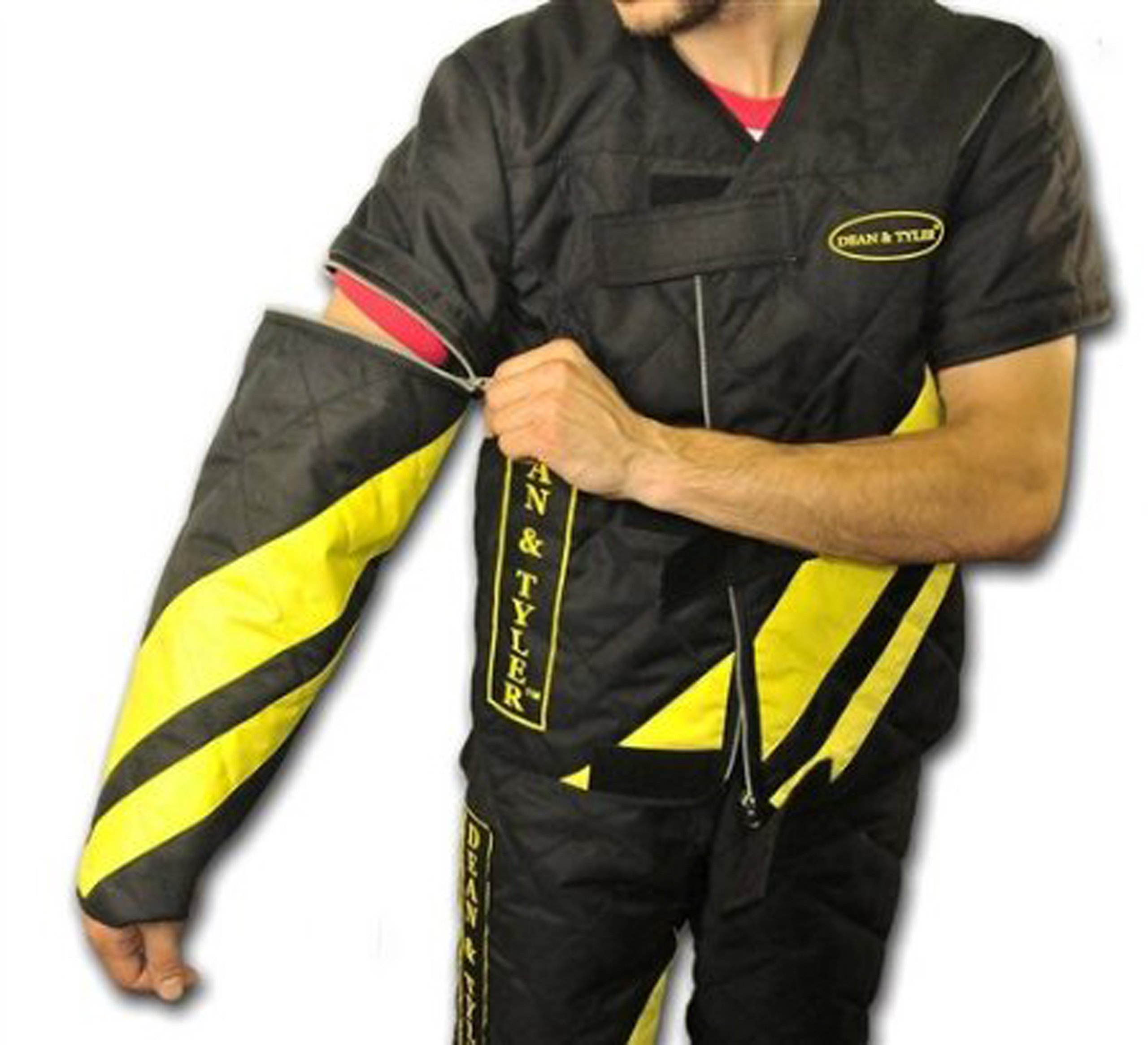Dean and Tyler Scratch Suit, Neoprene Nylon - Black/Yellow - Size: Large (J: 42-Inch, P: 36-Inch) by Dean & Tyler (Image #5)