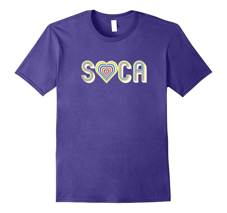 I Love Soca T Shirt - Soca Shirts-Art