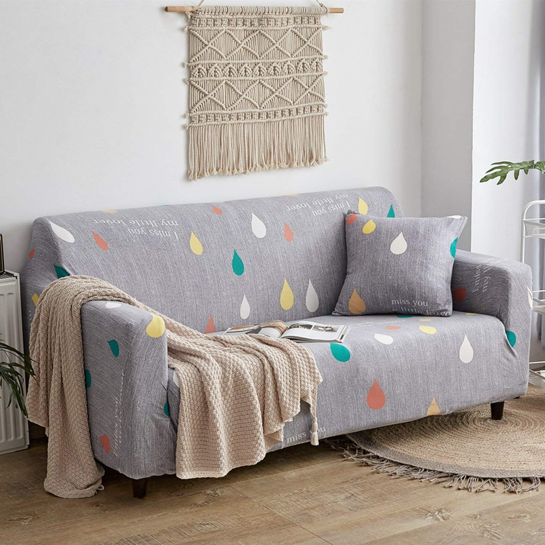 Amazon.com: No Buy No Bye Universal Elastic Sofa Cover Pink ...