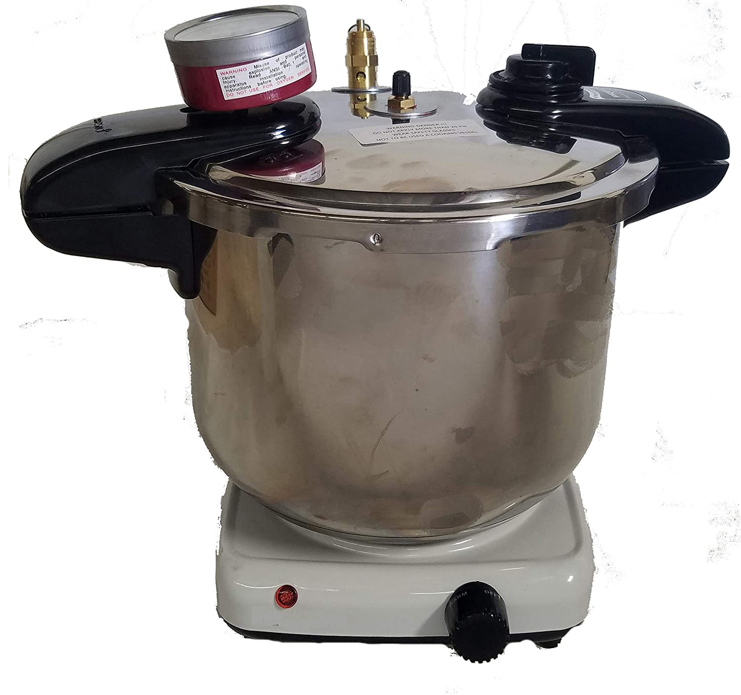 Denture Pressure Pot 8 Quart, Heated