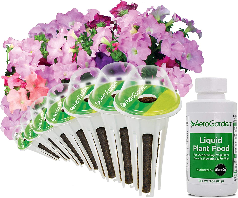 AeroGarden Cascading Petunia Flower Seed Pod Kit, 7
