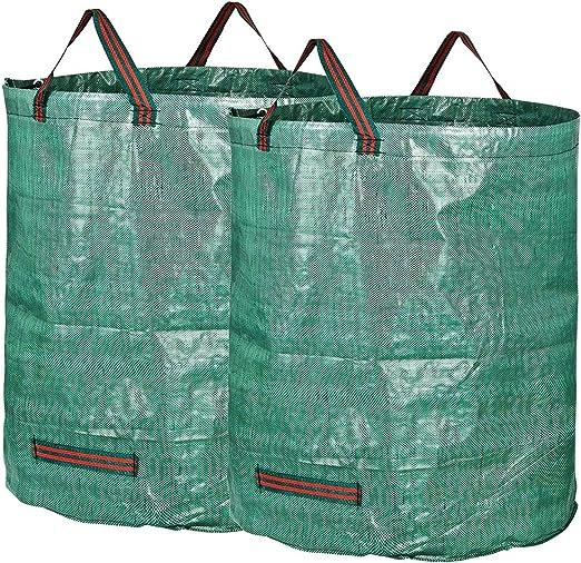 Bolsas de jardín - Bolsas de hoja de 72 galones Bolsas de jardinería reutilizables Bolsas plegables de jardín y contenedores de basura de jardín Bagster 2: Amazon.es: Jardín