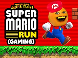 Amazon com: Watch Clip: Annoying Orange Let's Play - Super Mario Run