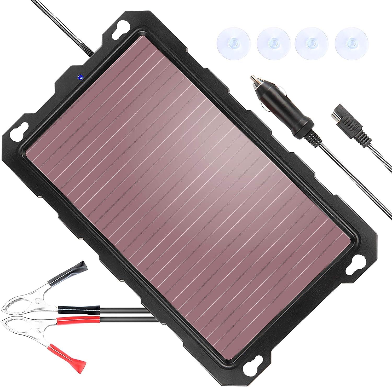 poweriser 12V太阳能电池维护和充电器