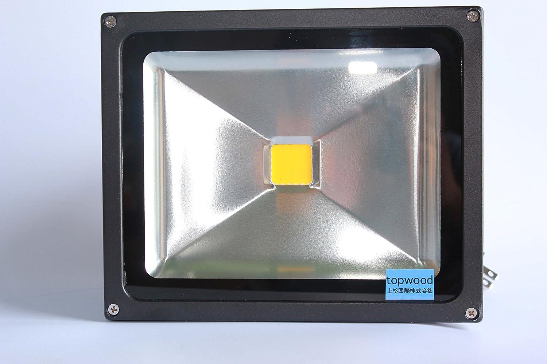 TOPWOOD製 LED投光器30w 4台セット 作業灯 集魚灯 看板灯 倉庫照明 店舗照明照明器具6000ケルビン昼白色 B013D1ICDO 15920