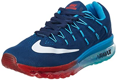 b9250b6e7a0c2 Nike Men's Air Max Blue Running Shoes - 7.5 UK/India (42 EU)(8.5 US ...