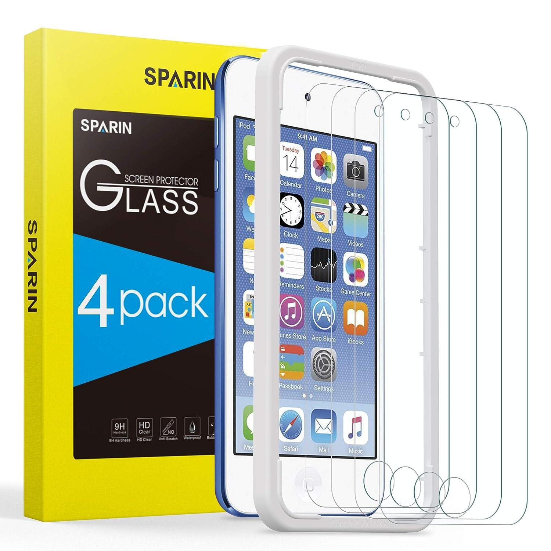 4 vidrios templados iPod Touch (7th / 6th / 5th)