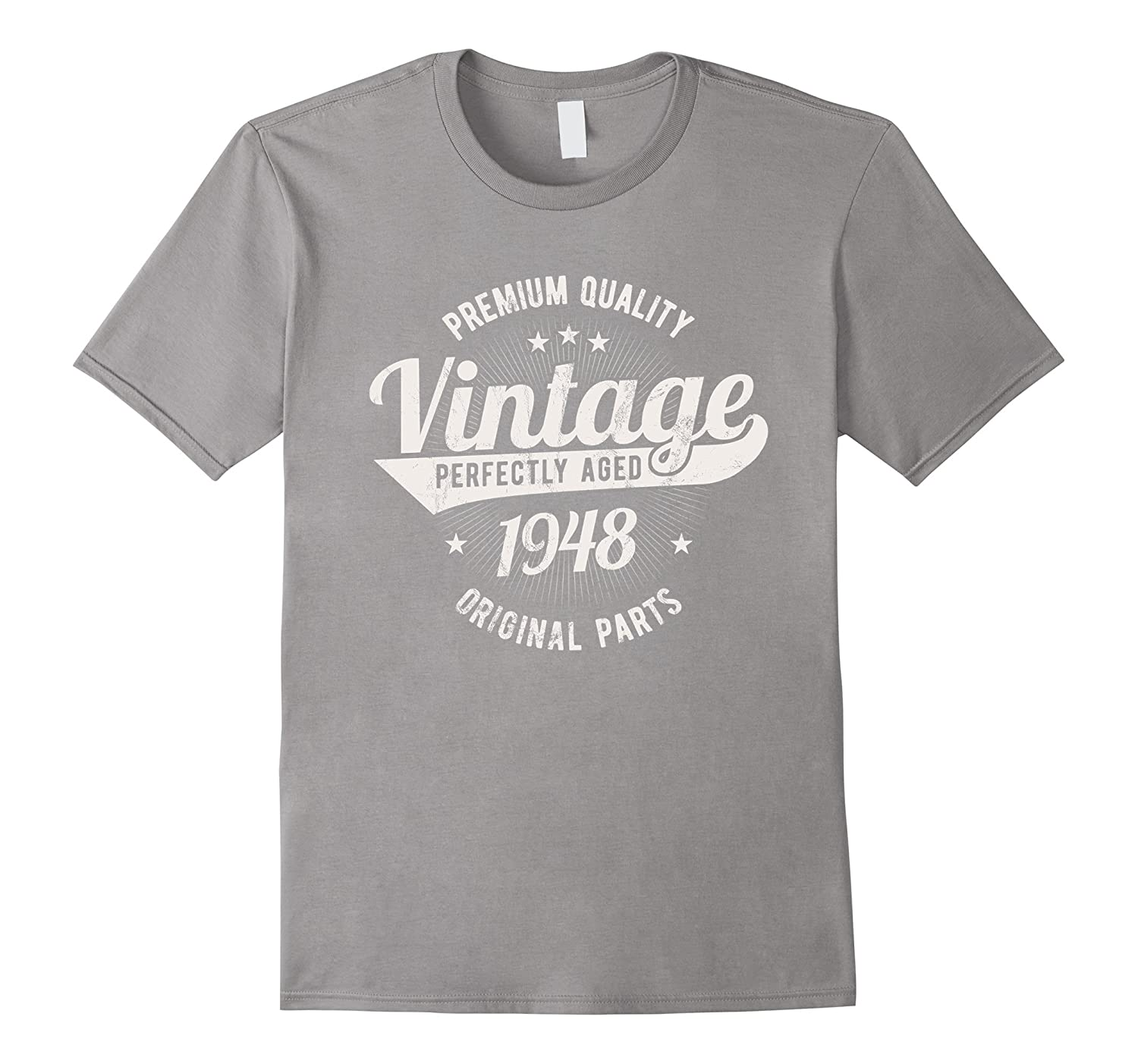 34c7c41d7 Vintage Est 1948 T-Shirt 70 Years Old 70th Birthday Gift-ah my shirt ...