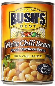 Bush's Best White Chili Beans, 15.5 oz