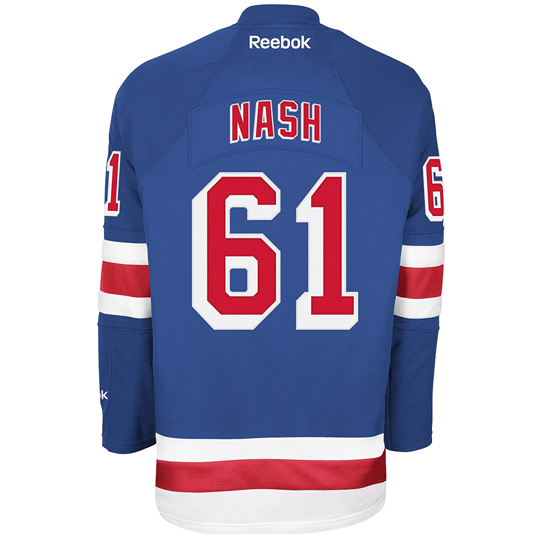 Amazon.com   Reebok Men s NHL New York Rangers Rick Nash Premier Jersey   Hockey  Jerseys   Sports   Outdoors 1b3d13eb5