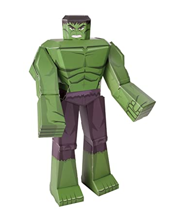 Marvel blueprint paper craft 12 figure hulk amazon toys marvel blueprint paper craft 12quot figure hulk malvernweather Image collections