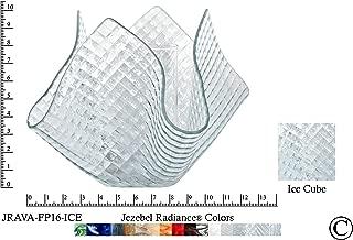 product image for Jezebel Radiance JRAVA-FP16-ICE Glass Vase Lamp, Ice Cube
