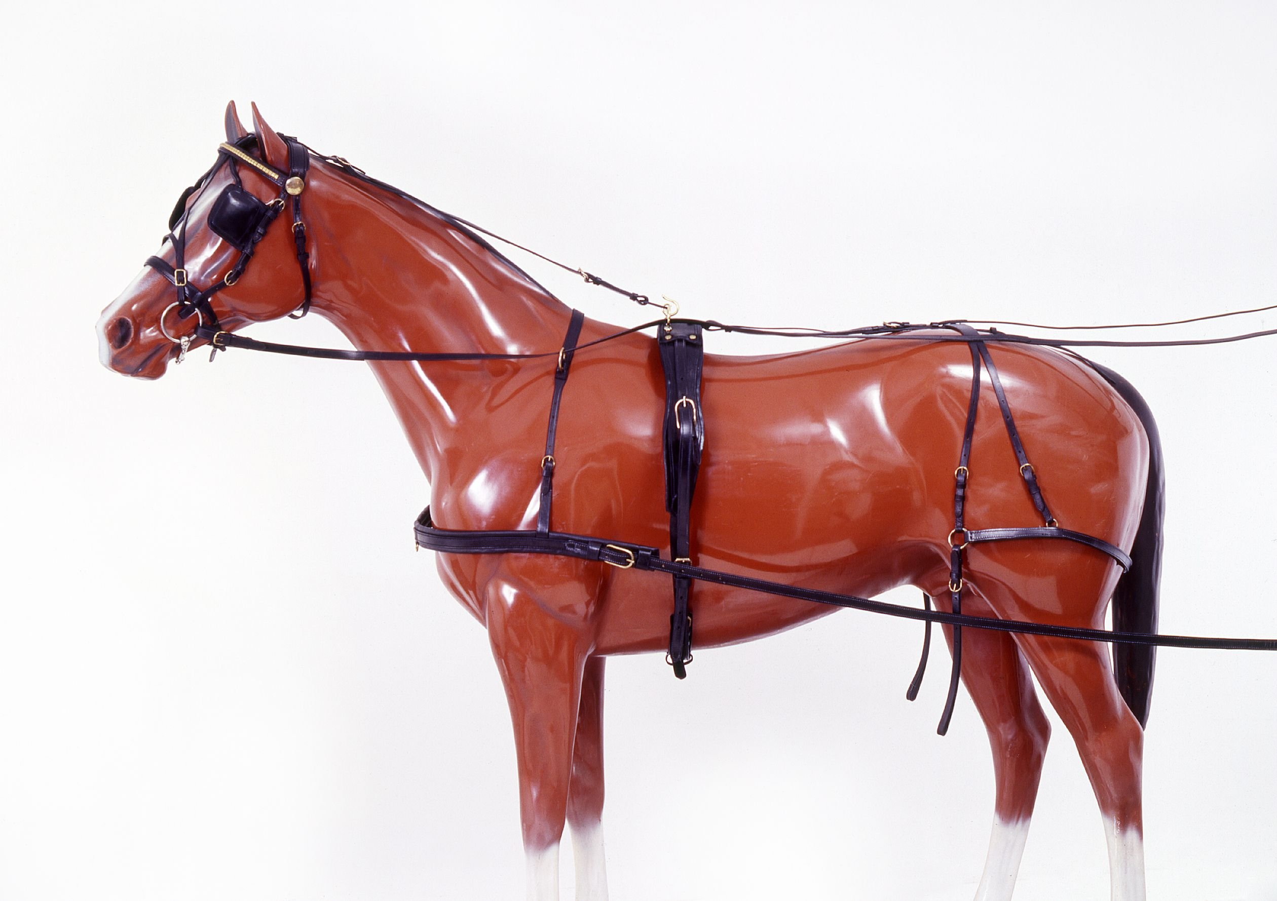 Tough 1 Leather Harness, Horse