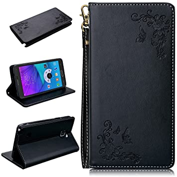 verttek para Samsung Galaxy Note 4 Suave Piel Funda Carcasa ...