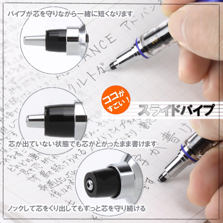 Kuru Toga Advance Vert citron 0,5/mm Uni crayon m/écanique M55591p.5