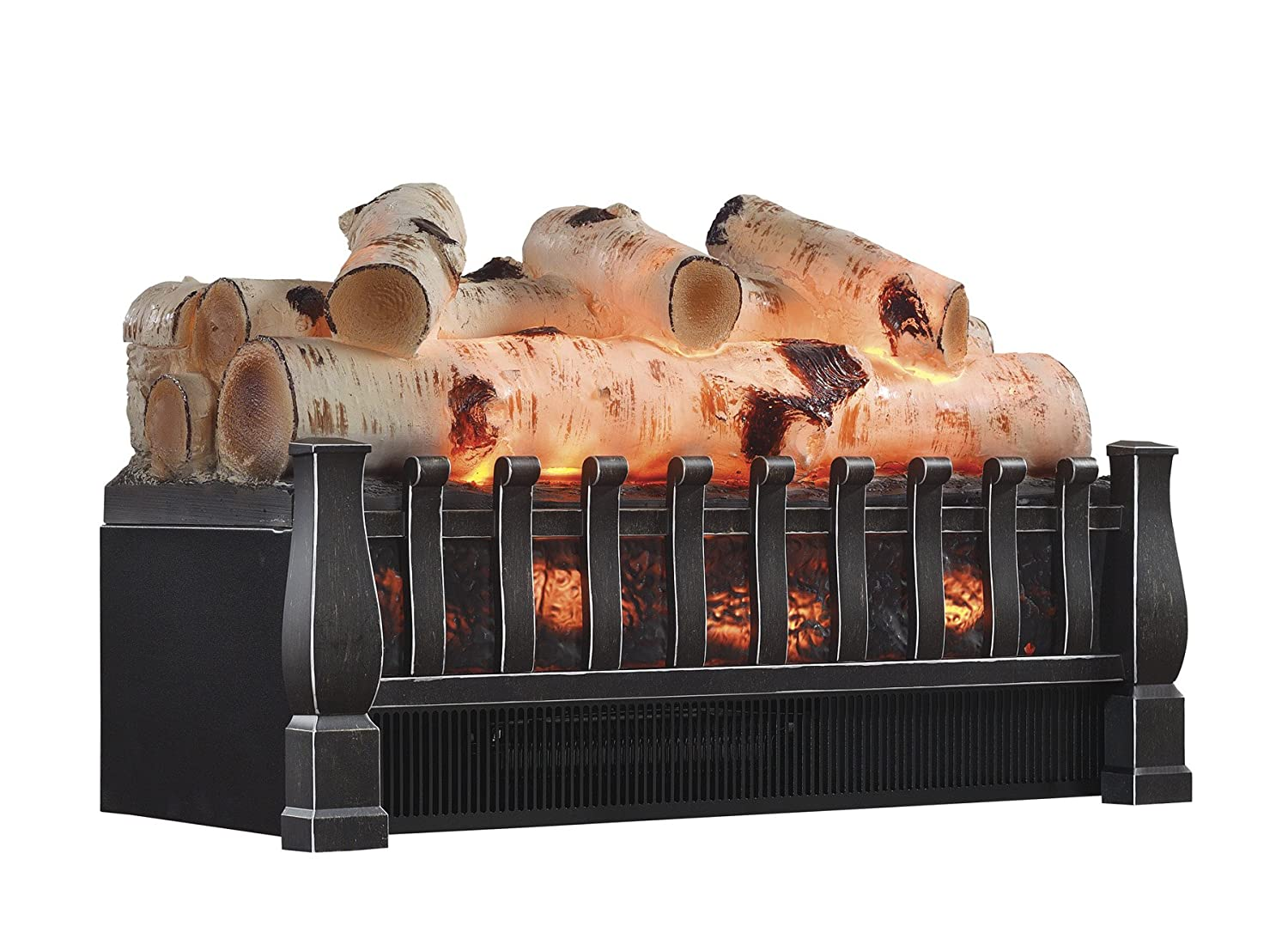 Pleasant Hearth 20-in Electric Fireplace Log Set w/ Crackling Sound - L-20W