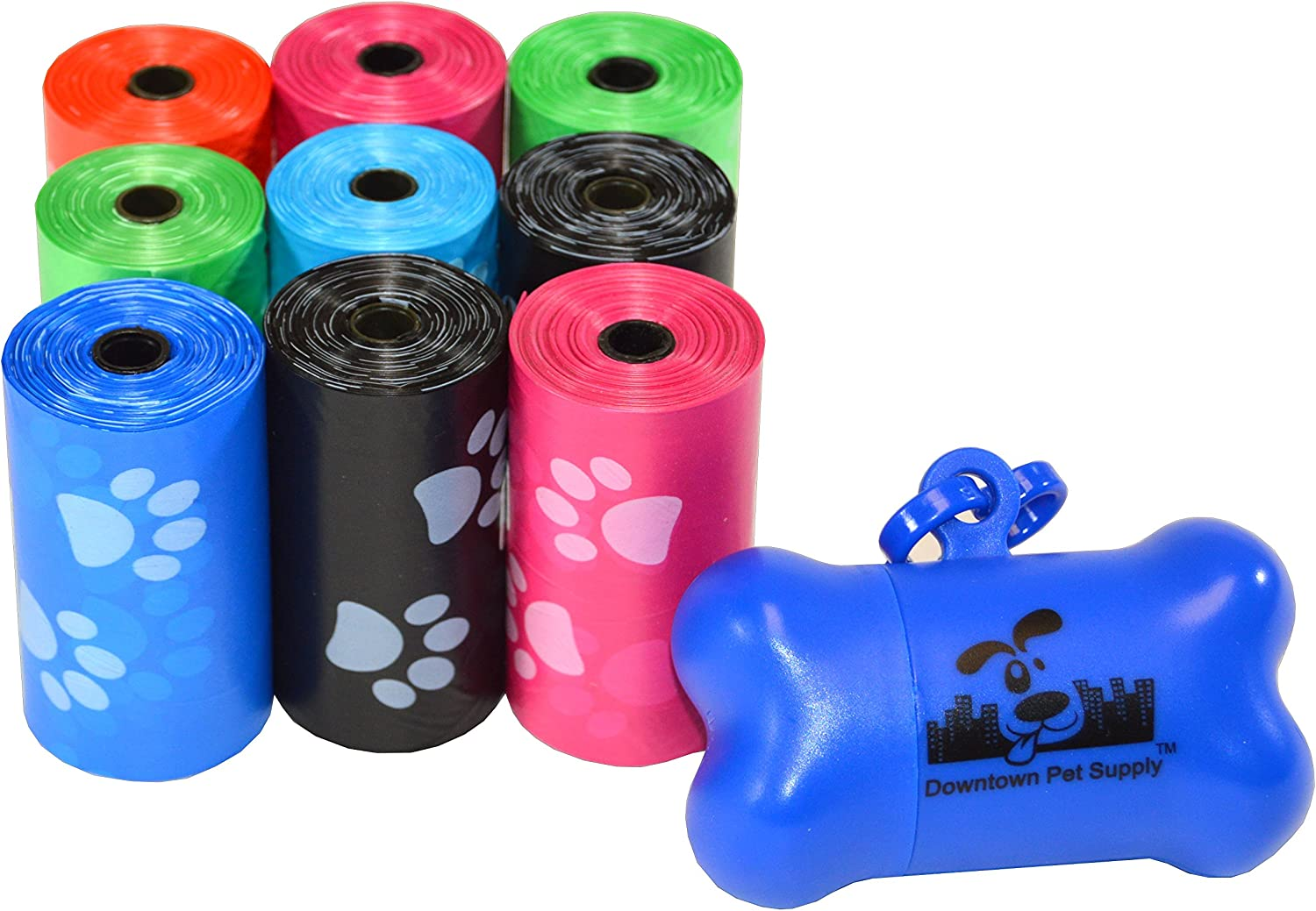 "Downtown Pet Supply, Dog Pet Waste Poop Bags, 12.5"" x 8.5"""