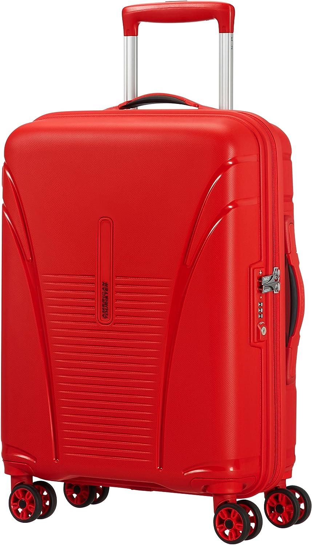 American Tourister Skytracer Spinner Equipaje de Mano, 55 cm, 32 Litros, Rojo (Formula Rojo)