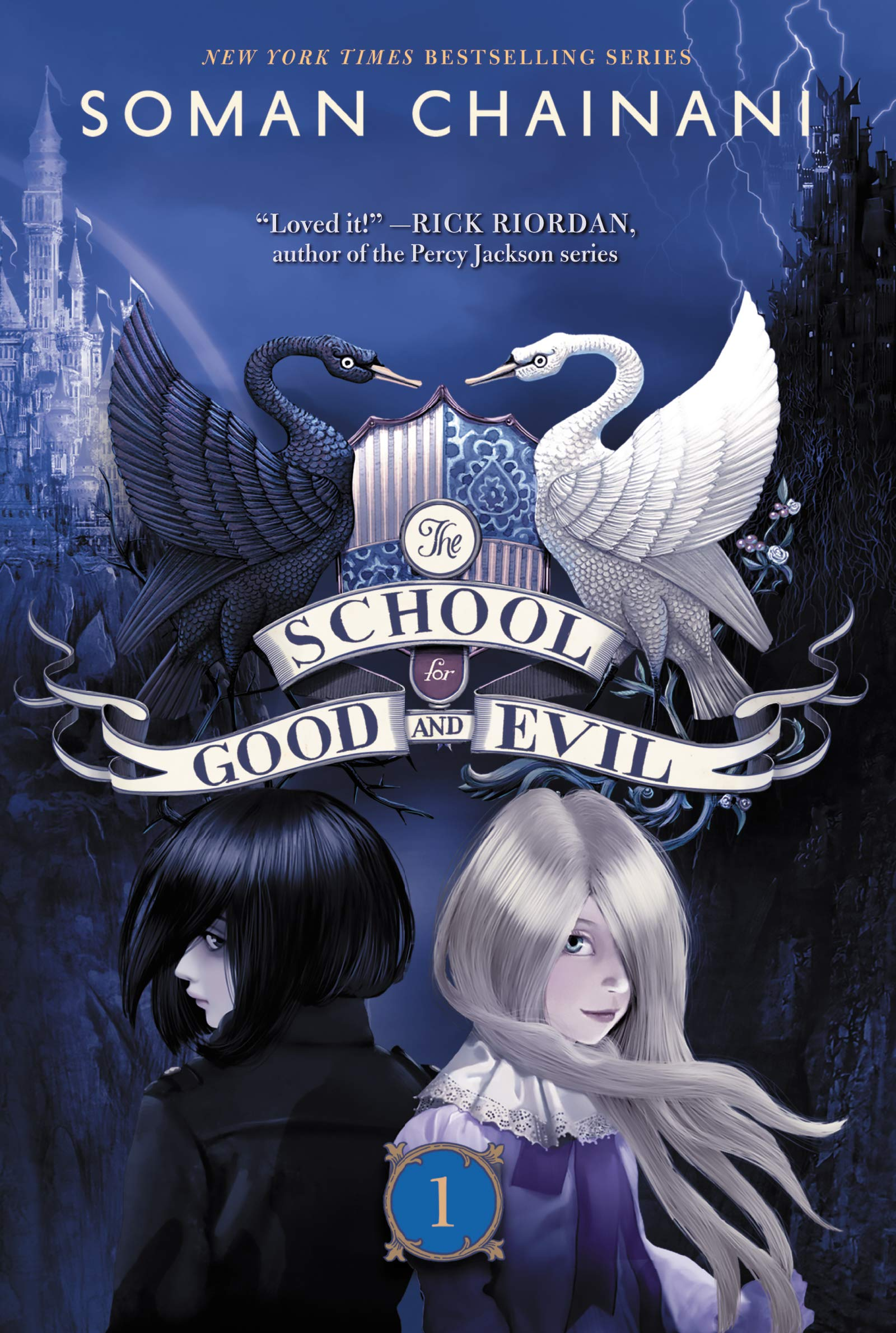 The School for Good and Evil  Soman Chainani f59c077befe9