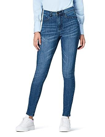 da75403a0887 find. Damen Skinny Jeans mit hohem Bund