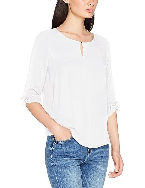 Vero Moda Vmbuci 3/4 Fold-up Top Noos, Blusa para Mujer,