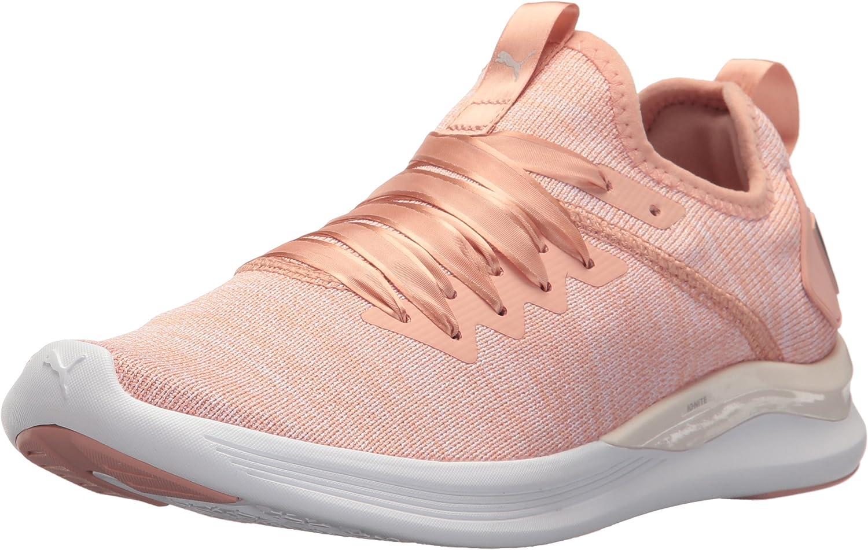 PUMA Womens Ignite Flash Evoknit Satin EP Womens Running Shoes