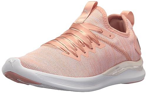 1fd847b78a6dc1 PUMA Womens Ignite Flash Evoknit Satin EP Womens Running Shoes ...