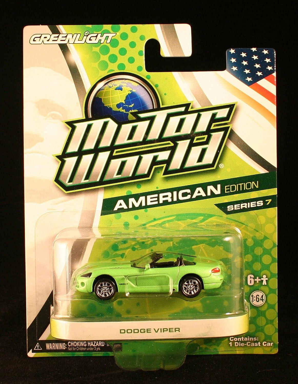 Greenlight Motor World American Edition Series 7 Dodge Volkswagen Panel Van Red German Viper Green Toys Games