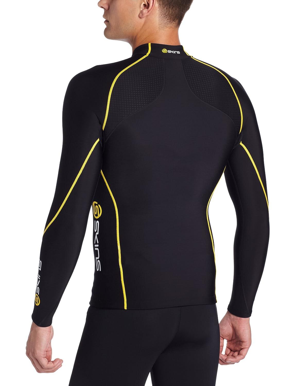 Skins Herren A200 Thermal Mens Long Sleeve Mck Neck W Zip: Amazon.de: Sport  & Freizeit
