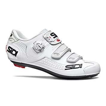 Sidi Alba Road - Zapatillas de ciclismo, color blanco y blanco, 39 EUR [