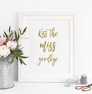 photo regarding Kiss the Miss Goodbye Printable named Chook Do Plaque Present Visitor Guide/Plaque Kiss The Overlook Goodbye