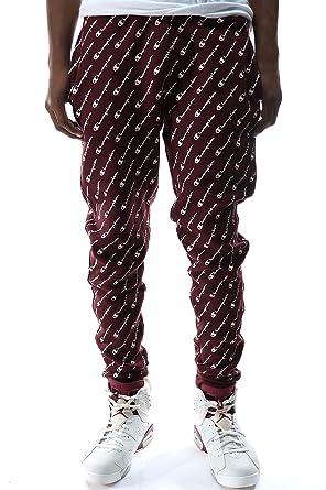 3c59b36bdbc2 Amazon.com  Champion LIFE Men s Reverse Weave Jogger-Print  Clothing