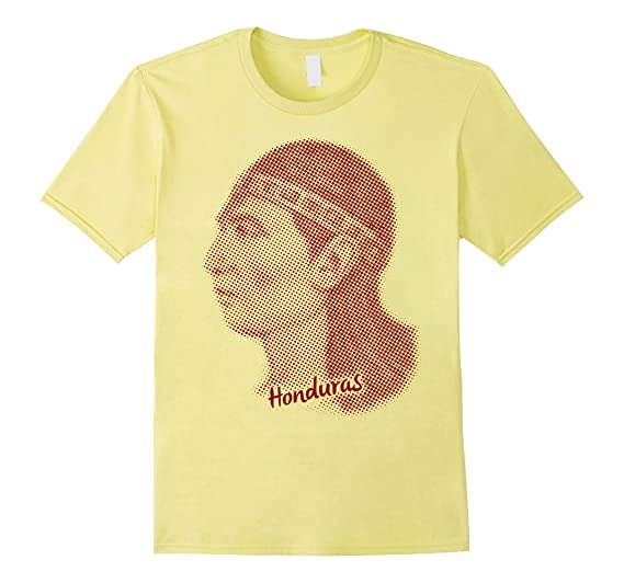 Mens Honduras Indio Lempira T-shirt 2XL Lemon