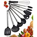 Braviloni 8Pc Nonstick Kitchen Utensils Set