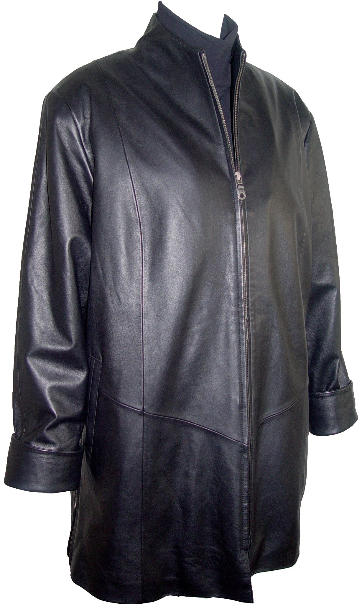 Johnny 5001 Female Leather Jacket & Coats Fashion Soft Lamb