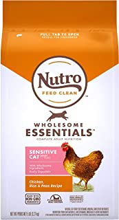 product image for Nutro Wholesome Essentials Indoor and Sensitive Digestion Dry Cat Food, Chicken