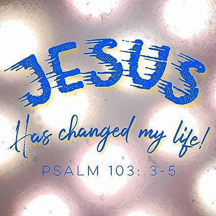 Amazoncom Christian 300 X 300 Print Quote Bible Verse Jesus Has