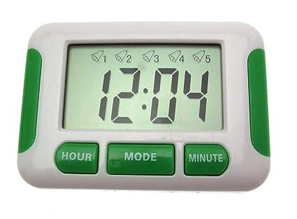 live-wire-direct Reloj Digital con 5 x separadas múltiples ...