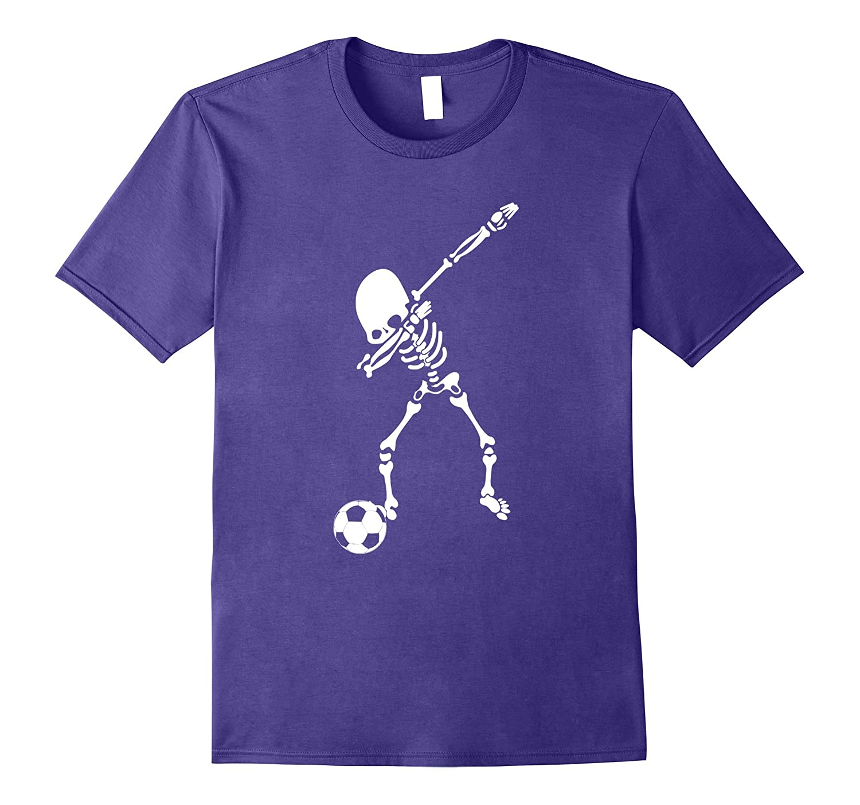 Halloween Dabbing Skeleton Soccer Shirt