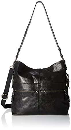 The Sak Sanibel Bucket Shoulder Bag, Black, One Size: Handbags ...