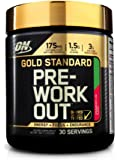 Optimum Nutrition Gold Standard Pre Workout, Strawberry Lime, 300 Grams